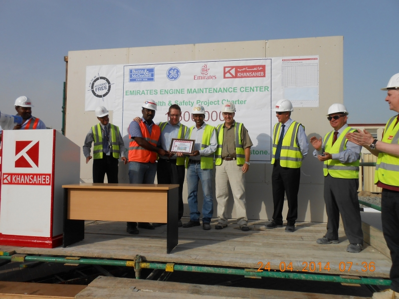 Tiger PROFILES Best HSE performer on Emirates Engines Maintenance Center Project