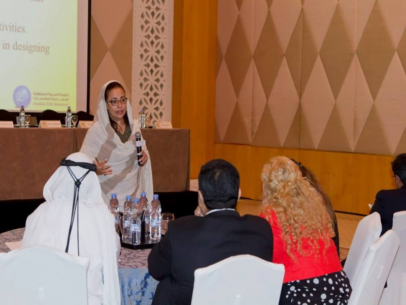 Tiger PROFILES at The Arabia Corporate Social Responsibility Awards Clinic 2014