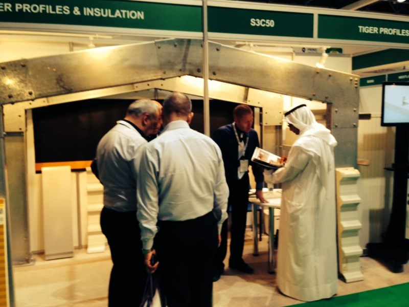 Tiger PROFILES at AGRAME Expo Dubai Trade Center 25-27/3/2014