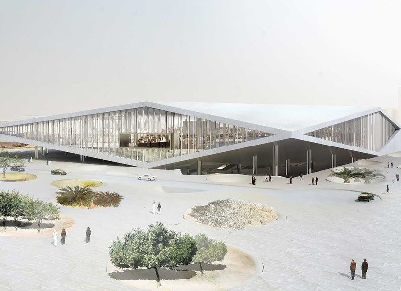 qatar national library project