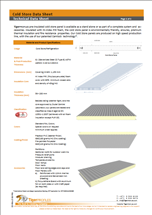 Concealed Fix Insulated Wall Panel Data Sheet