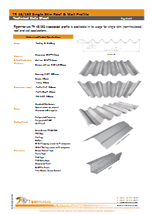 Tiger Profiles - TR 45/150 (Roof & Wall)
