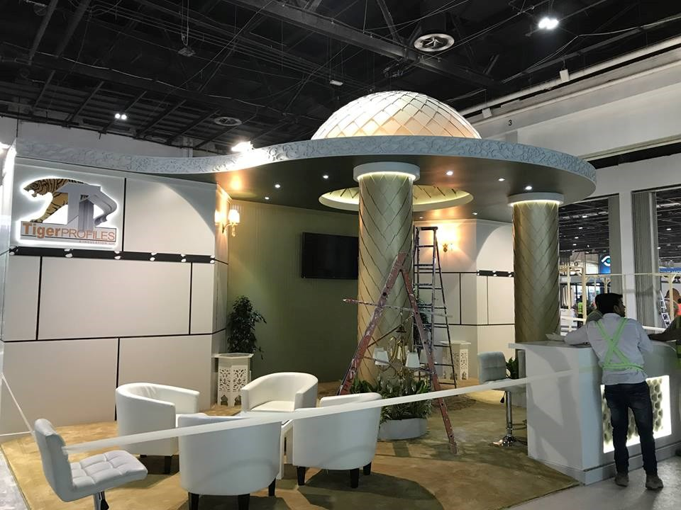 Tiger Profiles - @ Middle East Coverings Show 2017